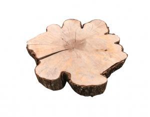 Drewno w kształcie kwiatka